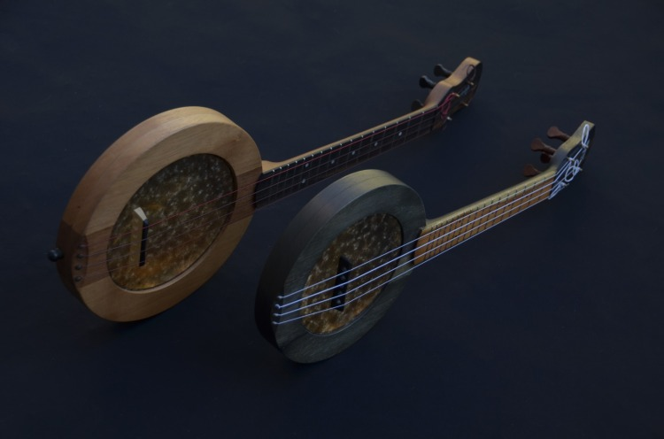 Tenor-and-soprano-banjo-ukuleles